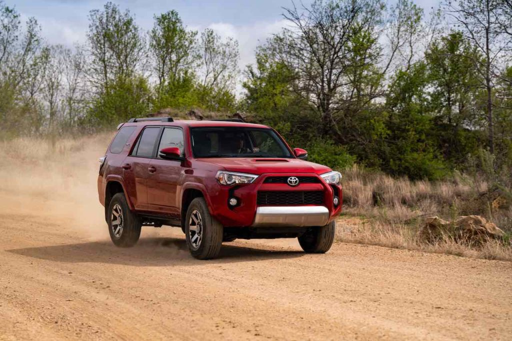 2019 4runner trd off road