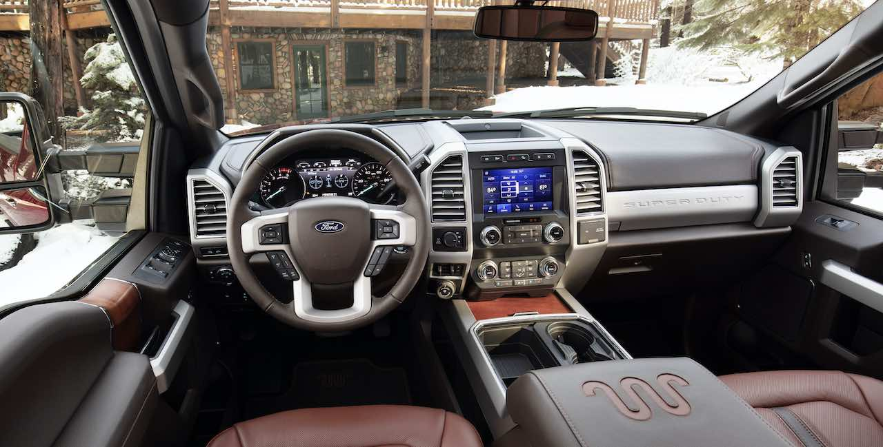 2020 Ford Super Duty F-250 Interior