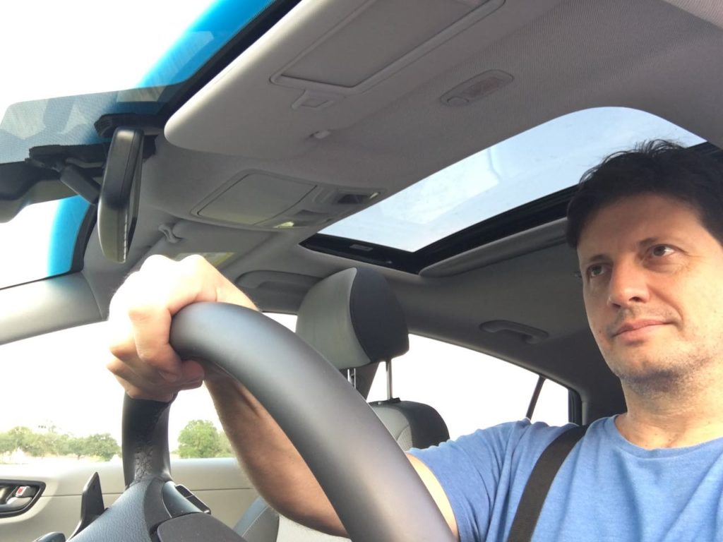 2020 Ionic Marco Carvajal driving